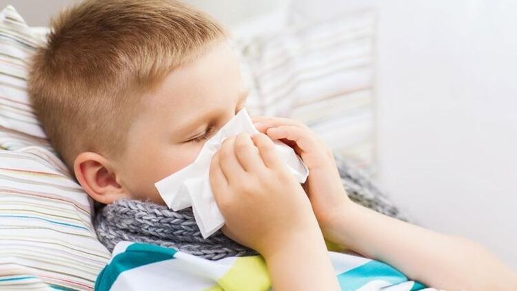 Çocuklar yılda 6-8 kez soğuk algınlığı geçirir