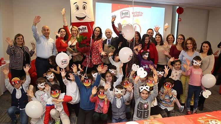Pritt 50. yılını TOÇEV'li çocuklarla kutladı