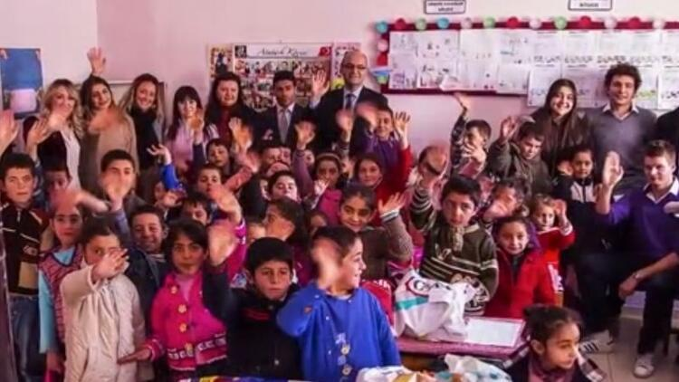 Şanlıurfa–Yediyol İlkokulu çocuklarının dilekleri gerçek oldu!