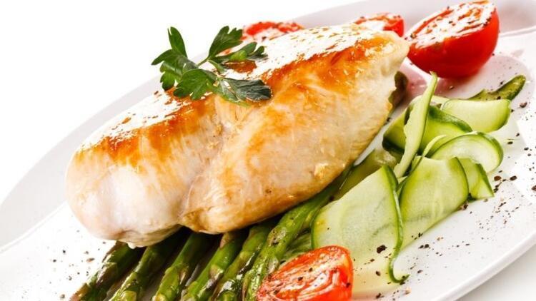 Tavuk ve hindinin beyaz eti en yağsız et sınıfında yer alıyor