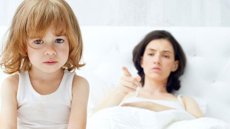 Çocuklarına bağıran anneler olmayın