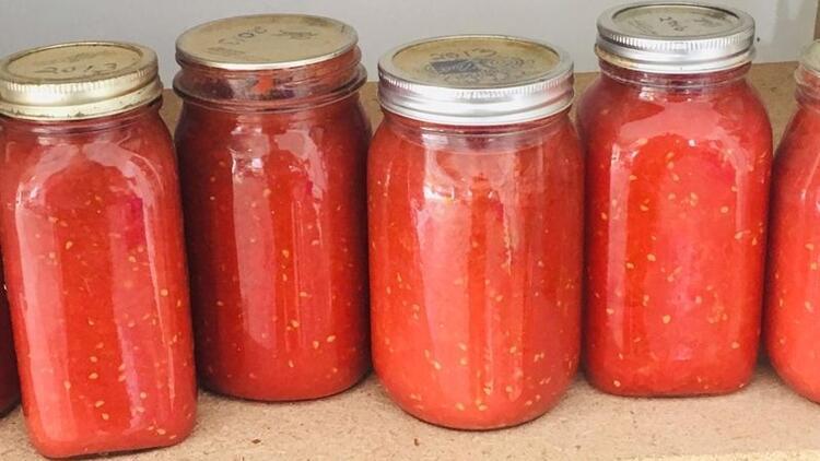 Evde domates konservesi yaparken bunlara dikkat!