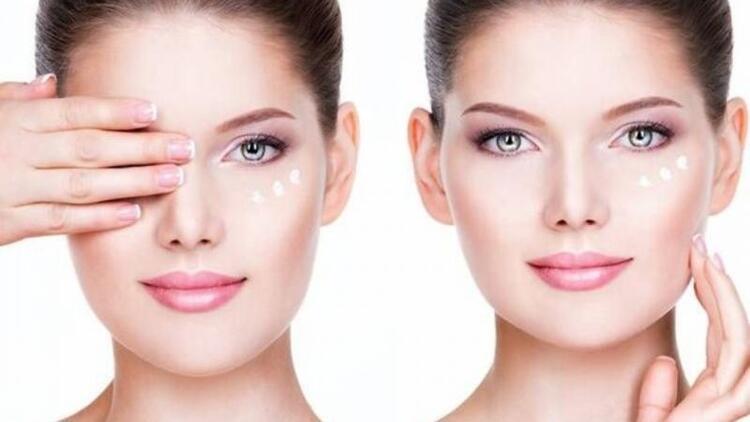 Ameliyatsız göz çevresi estetikleri