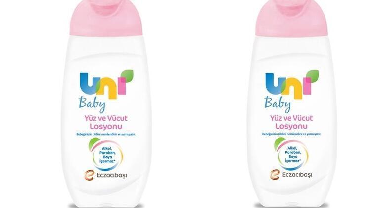 Uni Baby ile bebeklerin cildi yumuşacık