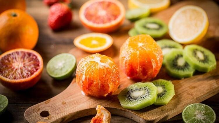 Zengin lif kaynağı 10 mucizevi kış meyvesi