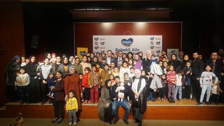 Bebekli Aile Buluşmaları'nın sekizinci durağı İstanbul Başakşehir'di!