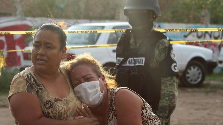Meksika'da gerçekleşen silahlı saldırıda 24 kişi ölü