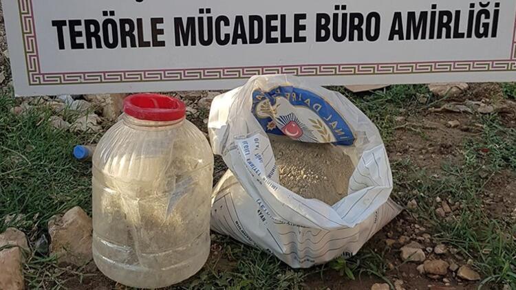 Nusaybin'de, menfezde alüminyum tozuyla güçlendirilen TNT patlayıcı bulundu