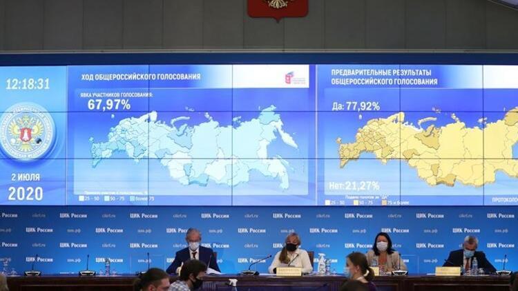 Son dakika: Kremlin, Putin'in halk oylamasında oyların çoğunu aldığını açıkladı