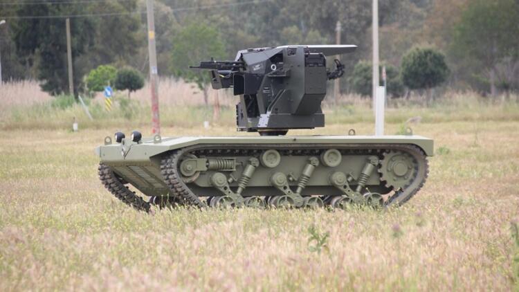 TSK, insansız mini tank kullanmaya başlıyor