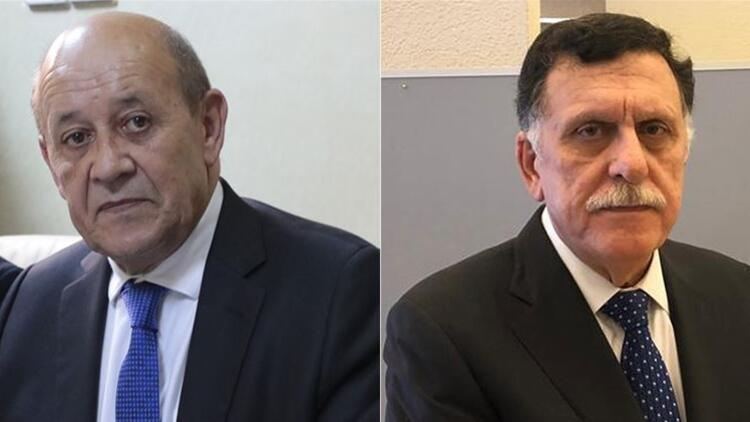 Son dakika haberi: Fransa Dışişleri bakanı, Sarrac ile görüştü