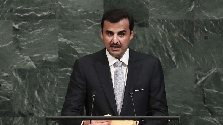 Katar Emiri Al Sani'den Cumhurbaşkanı Recep Tayyip Erdoğan'ın ziyareti sonrası 'iş birliği' mesajı