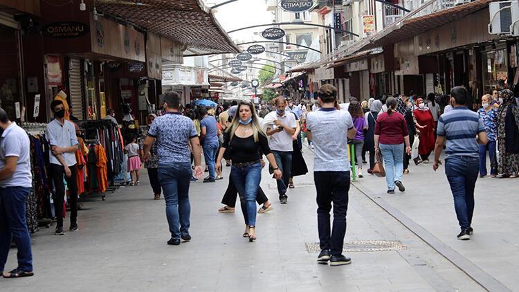Gaziantep'te sosyal mesafeye uyulmuyor
