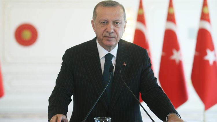 Son dakika... Cumhurbaşkanı Erdoğan: Salgın döneminde iki sektörün önemi ortaya çıktı
