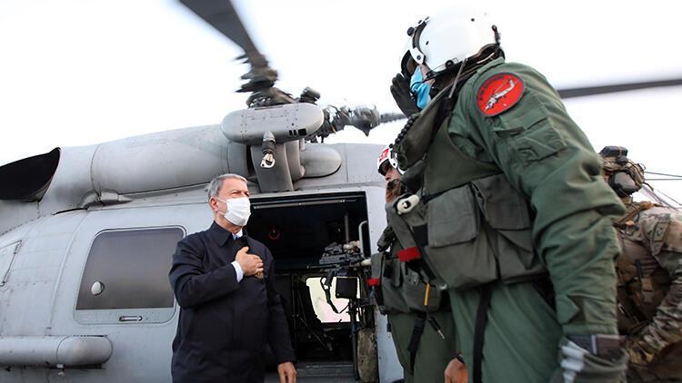 Son dakika haberi: Bakan Akar Libyada...  Uluslararası hukuk neyi gerektiriyorsa buradayız