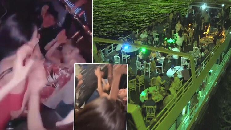 İstanbul Boğazı'nda skandal görüntüler! Koronavirüse aldırmadılar