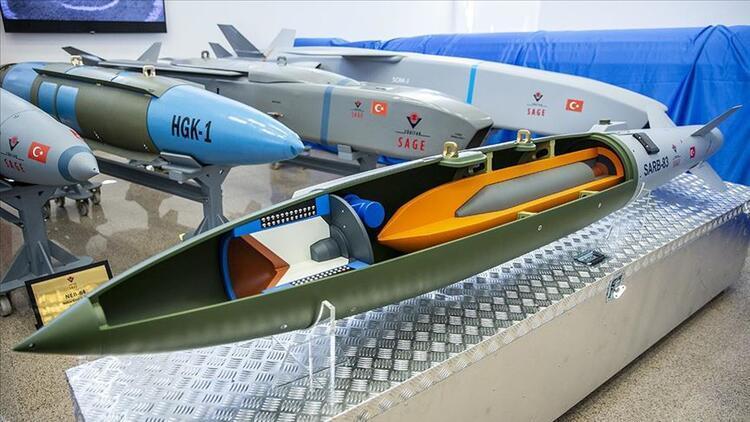 Yerli delicili uçak bombası seri üretime hazır hale getirildi.