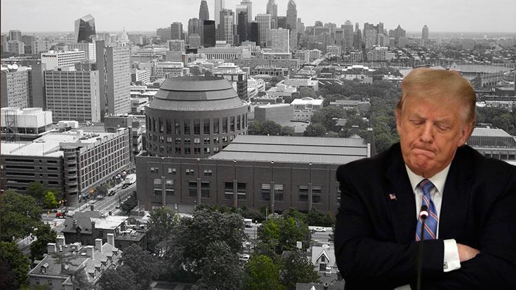 Trump hakkında çarpıcı iddia: Üniversite sınavına kendisi girmemiş
