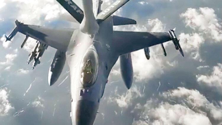 Türk Hava Kuvvetleri'nden 'tanker uçak'la Hafter'ci güçlere mesaj