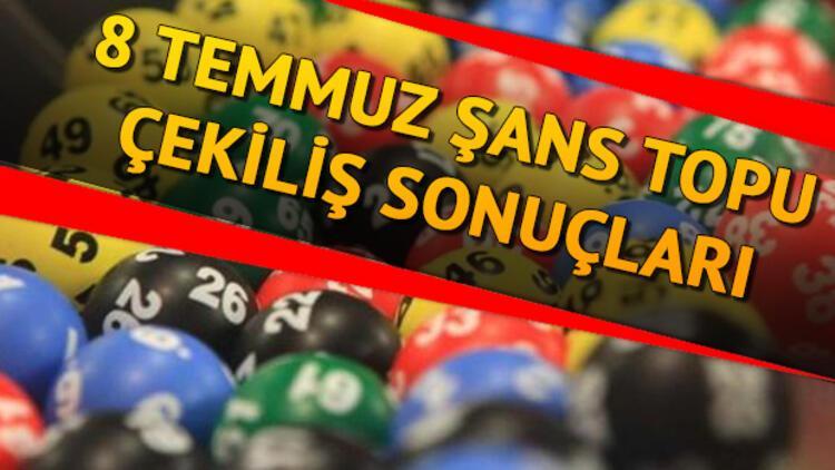 Şans Topu çekilişi sonuçları belli oldu; ikramiye 1 kişiye çıktı - 8 Temmuz 995'nci hafta MPİ Şans Topu sorgulama sayfası
