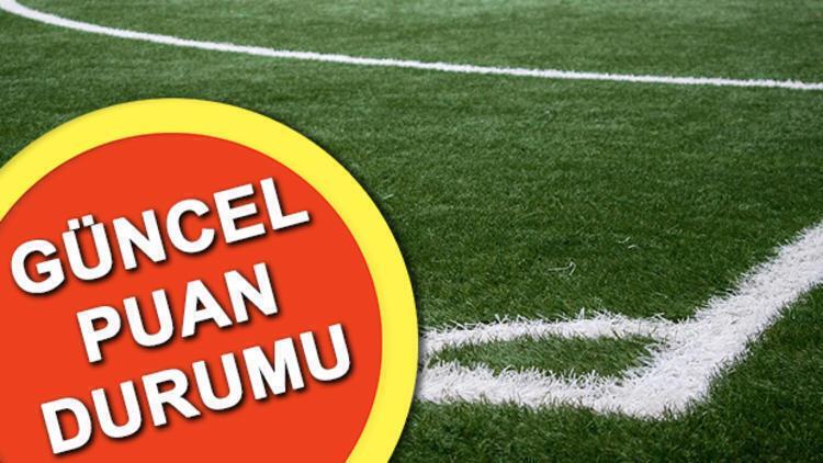 Süper Lig güncel puan durumu! Süper Lig 31. hafta puan durumu tablosu
