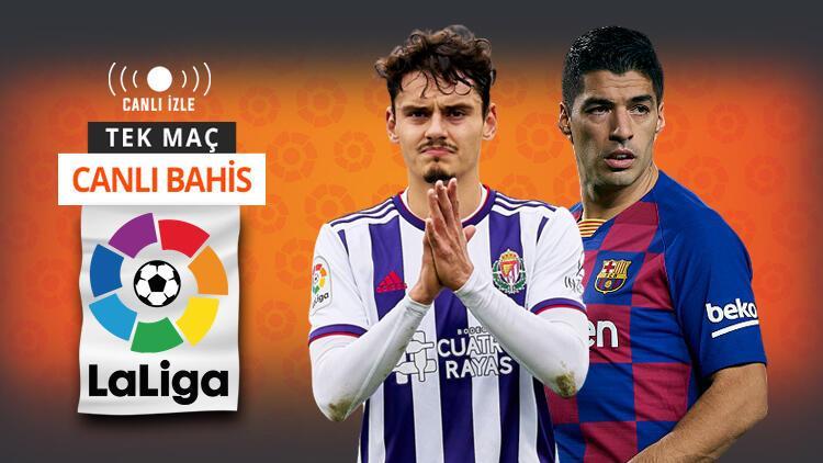Barcelona hata istemiyor Real Valladolidde Enes Ünal oynayacak mı
