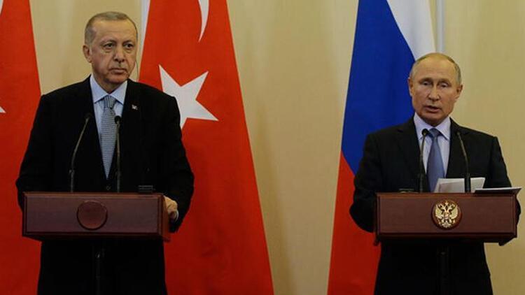 Son dakika... Cumhurbaşkanı Erdoğan ile Putin'den önemli görüşme
