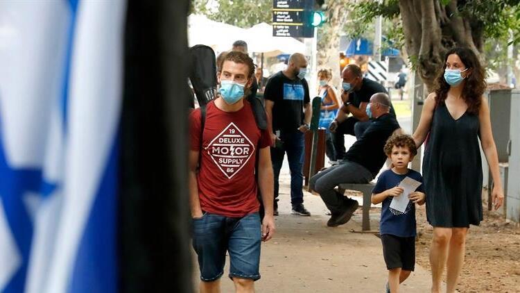 İsrail'de Covid-19 salgınında rekor günlük vaka sayısı