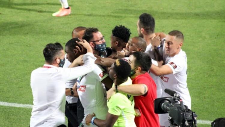 Trabzonspor'u yıkan Denizlispor'da bayram havası