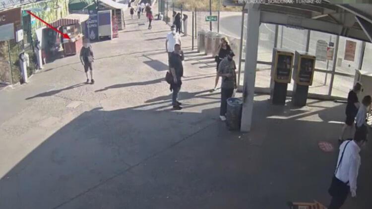 Sarıyer'de villaya giren hırsız kamerada