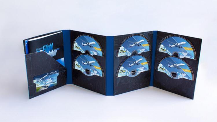 Microsoft Flight Simulator, 10 DVD ile kutusundan çıkıyor
