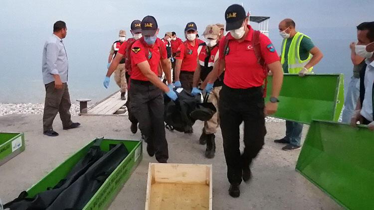 Van Gölü'nde batan tekneden yürek yakan bir haber daha!