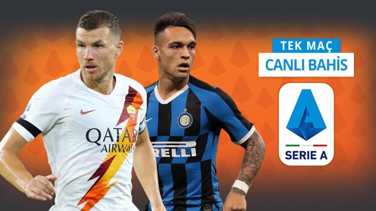 Inter, Romayı yenerse şampiyonluk umudu artacak Galibiyetlerine iddaada...