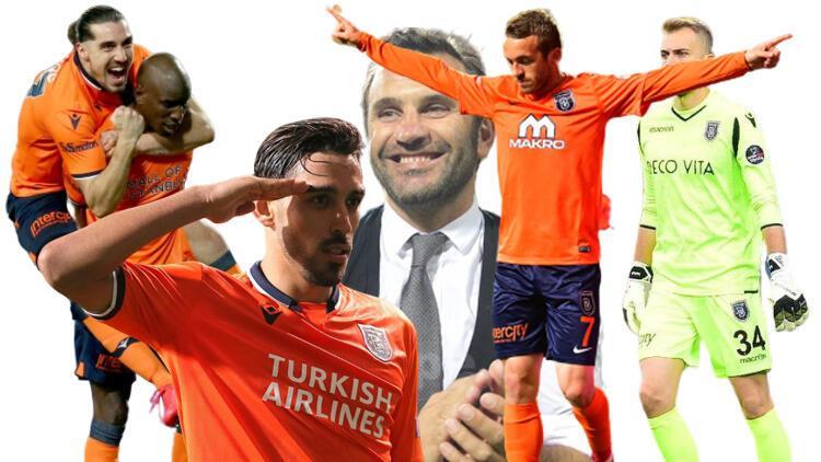 Başakşehir 1-0 Kayserispor (Süper Lig'de şampiyon Başakşehir)
