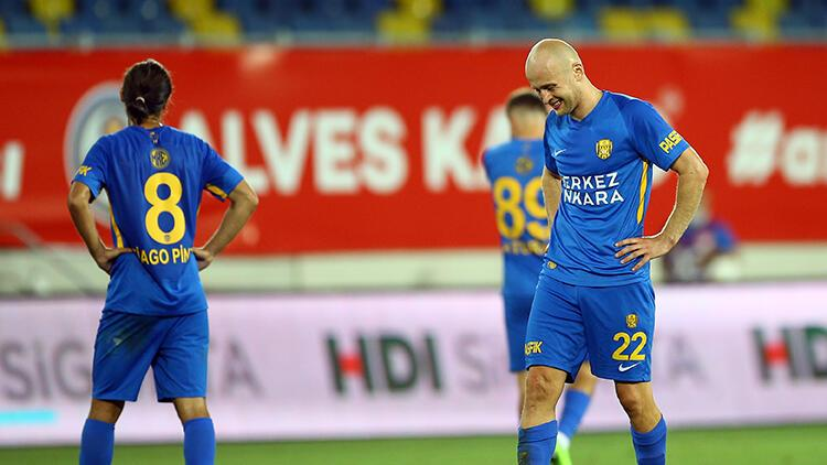 Son dakika! Süper Lig'de küme düşen ilk takım Ankaragücü oldu!