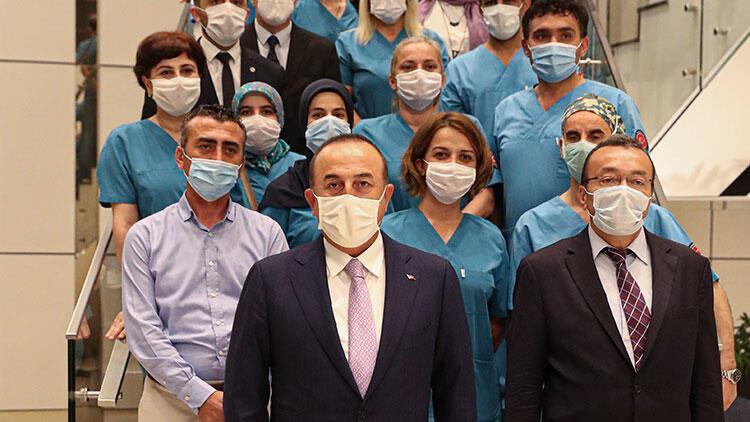 Dışişleri Bakanı Mevlüt Çavuşoğlu Nijer'de