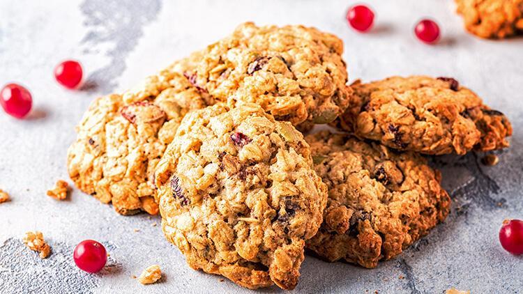 Granola'lı kurabiye tarifi
