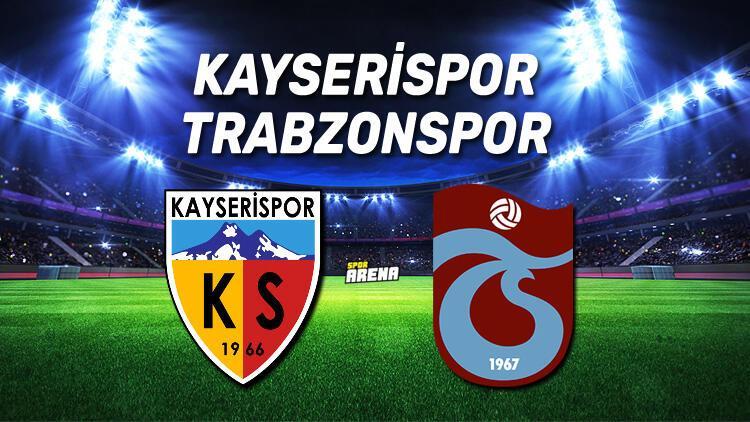 Kayserispor Trabzonspor maçı ne zaman, saat kaçta hangi kanaldan canlı yayınlanacak?