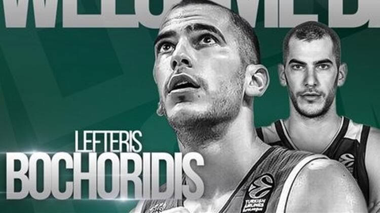 Lefteris Bochoridis, Panathinaikos'ta!