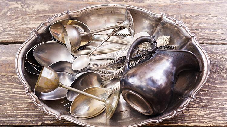 Evdeki gümüş eşyaların bakımı nasıl yapılır?