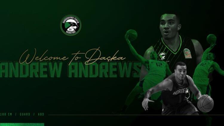 Darüşşafaka Tekfen, Andrew Andrews'i kadrosuna kattı
