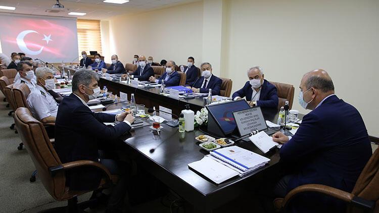 Bakan Soylu başkanlığında düzenlenen kritik toplantı başladı