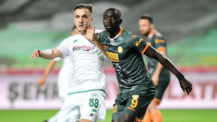 Son Dakika | Konyada 2-0dan dönen Alanyaspor Galatasarayı geride bıraktı