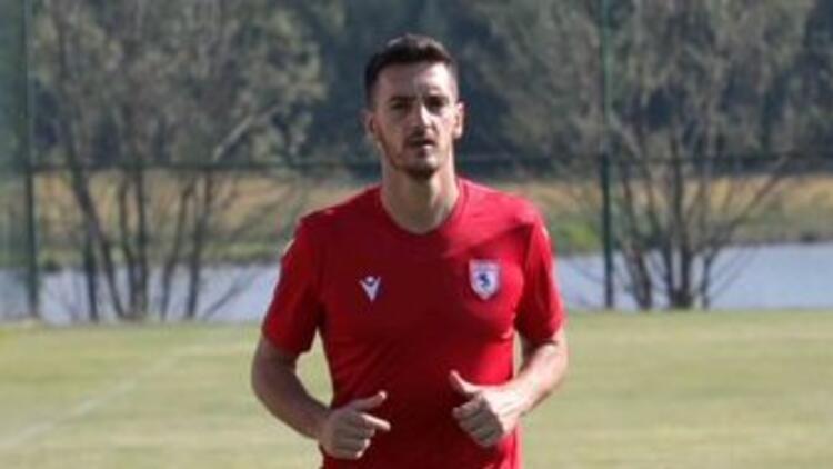 Samsunsporda yeni transfer Savicevic ilk antrenmanına çıktı