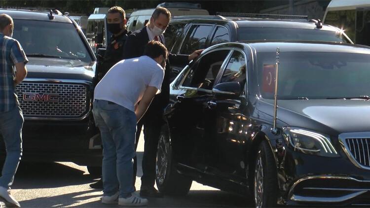 Cumhurbaşkanı Erdoğan, taksi ve minibüs şoförleriyle sohbet etti
