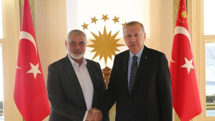 Hamas lideri Heniyyeden Cumhurbaşkanı Erdoğana Ayasofya tebriği