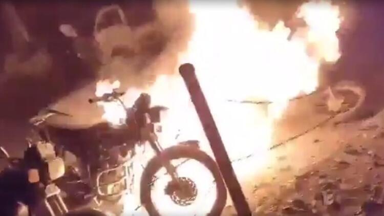 İdlibte bomba yüklü motosiklet patladı: 12 yaralı