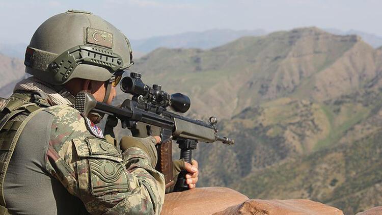 MSB açıkladı: Saldırı hazırlığındaki 1 PKK/YPGli terörist etkisiz hale getirildi