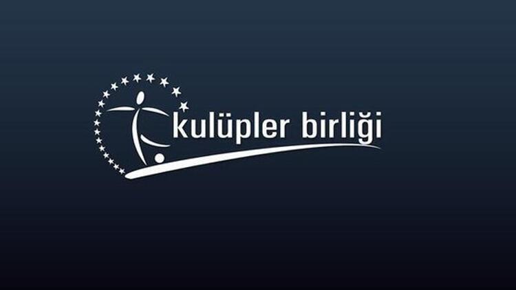 Kulüpler Birliği toplanıyor Yabancı sınırı ve yayıncı kuruluş...