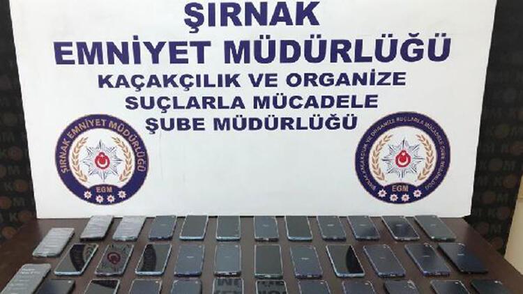 Şırnak'ta kaçakçılık operasyonu: 28 gözaltı